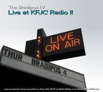 Bradipos IV- Live at KFJC Radio