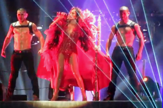 Jennifer Lopez: recensione concerto Casalecchio di Reno (Bologna) - 11 ottobre 2012