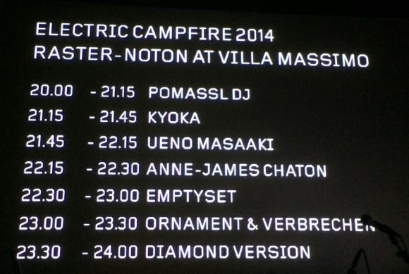 electric campfire raster noton 2014 recensione