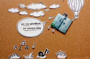 Antonio Firmani The 4th Rows We say goodbye, we always stay