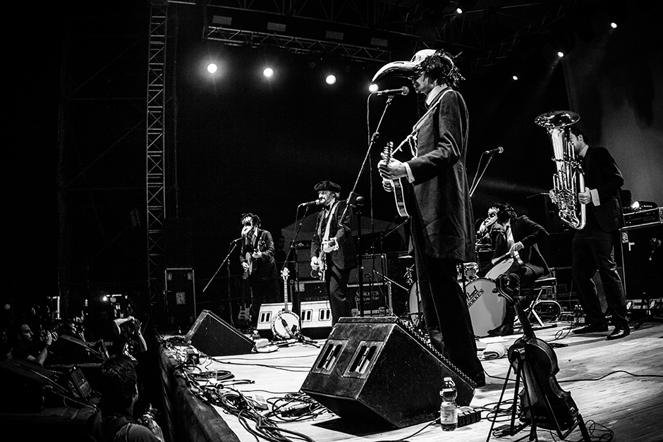 The Dead Brothers @ Zanne 2015. Foto di Antonio Serra