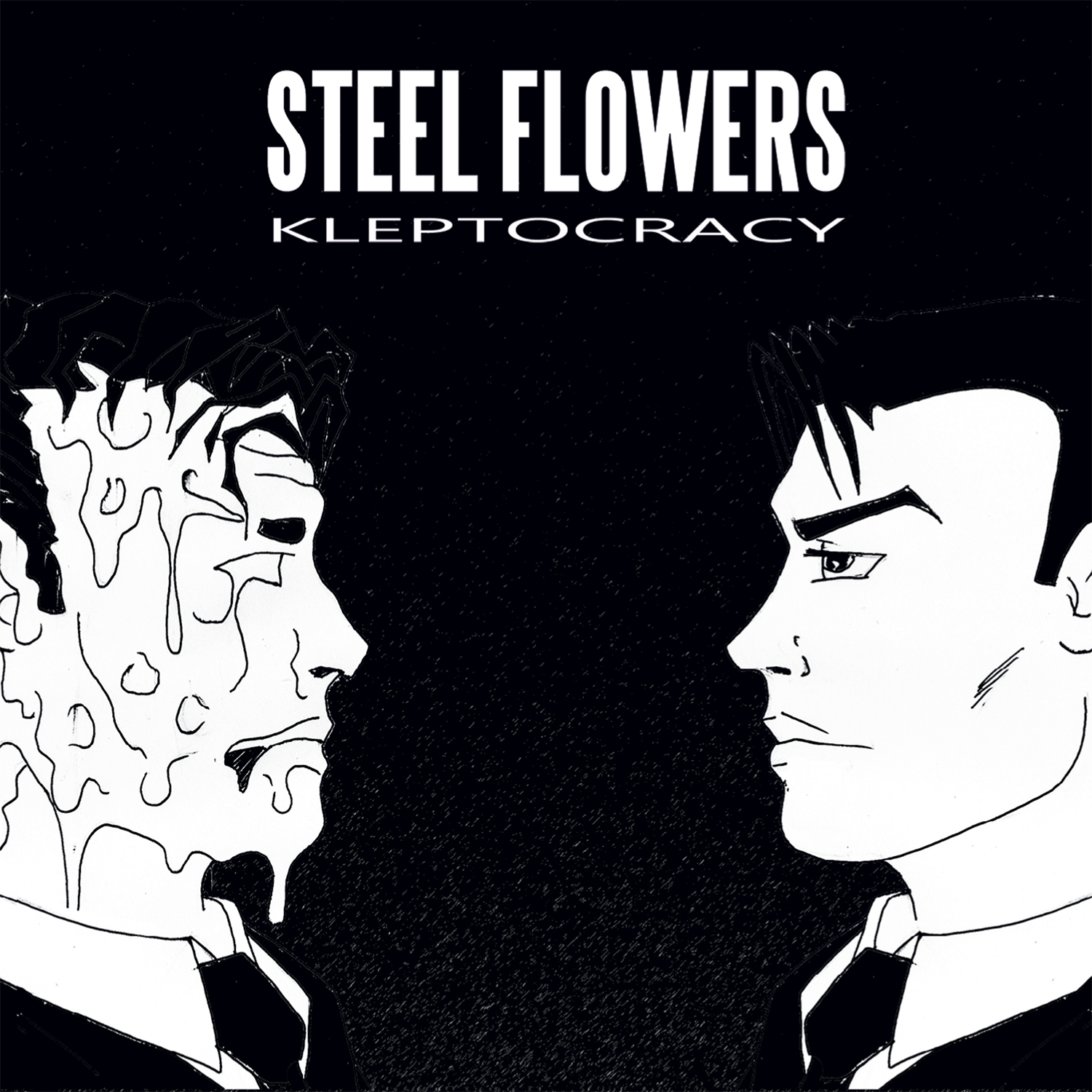 Steel Flowers-recensione-Kleptocracy