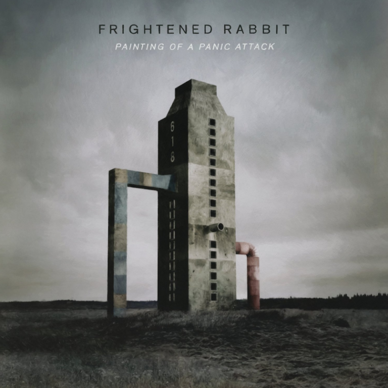 Frightened Rabbit- Painting of a panic attack