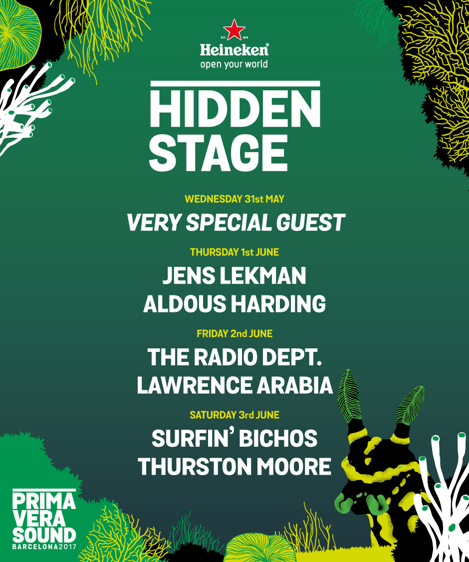 primavera sound 2017 hidden stage