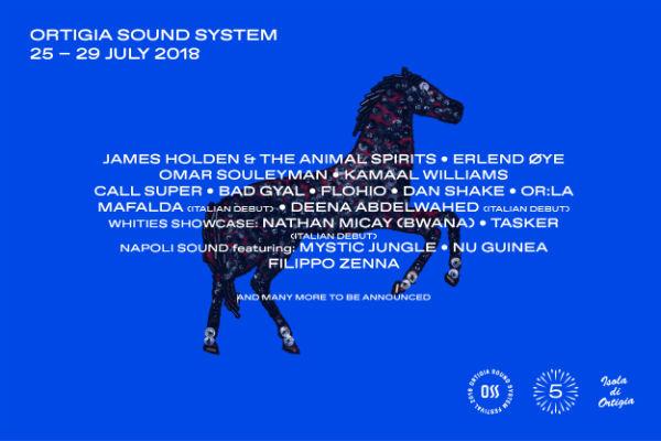 ortigia sound system 2018