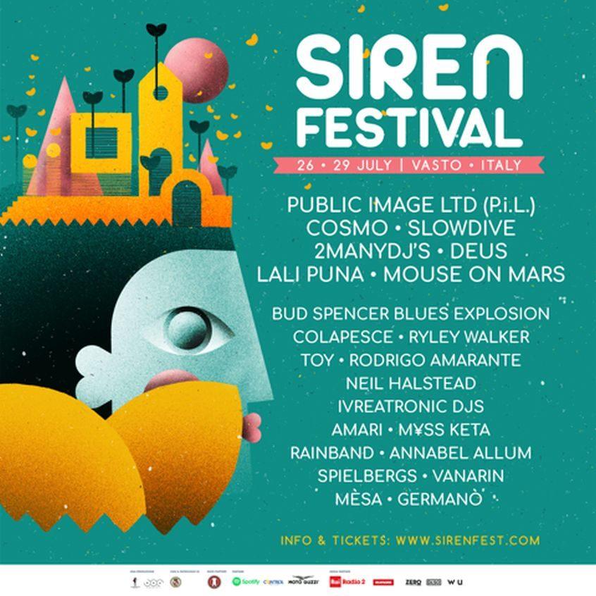 siren festival 2018 line up