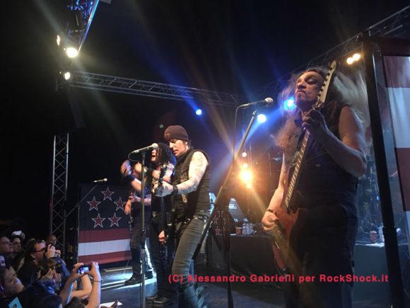 skid row recensione concerto bergamo 2018