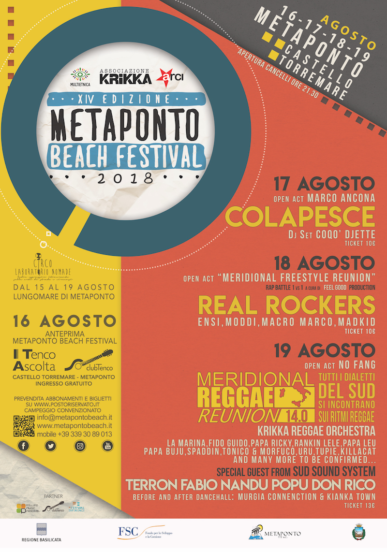 Manifesto beach festival 2018