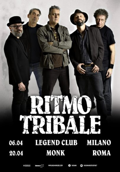 ritmo tribale tour 2019