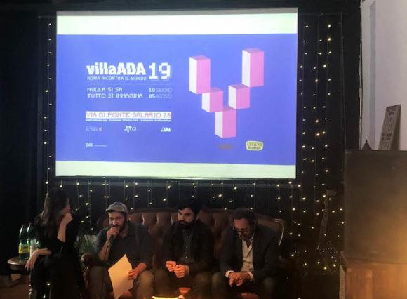 villa ada 2019-conferenza stampa