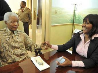 Ndileka Mandela a Villa Ada