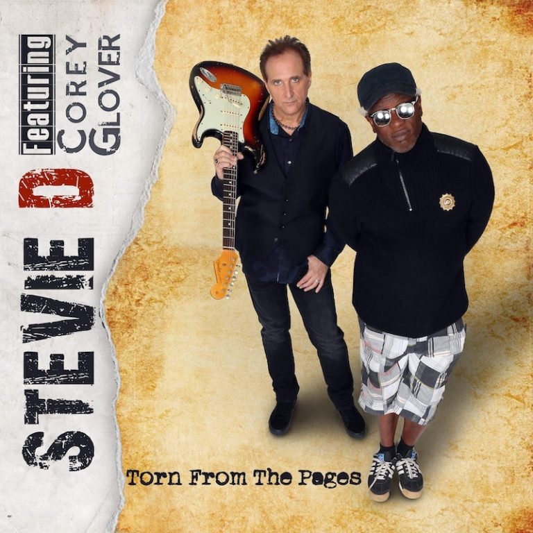 recensione Stevie D featuring Corey Glover- Torn from the Pages