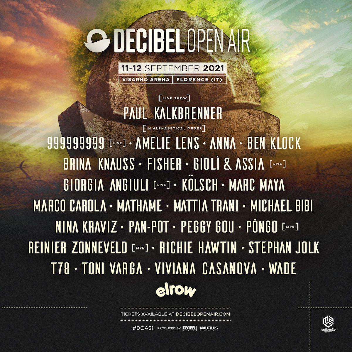 decibel open air festival